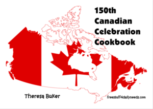 150th canadian celebration cookbook