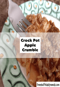 crock pot apple crumble