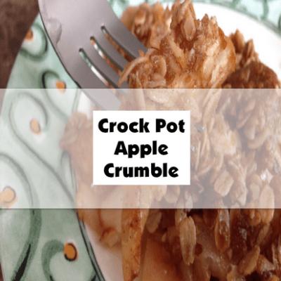 Crock Pot Apple Crumble