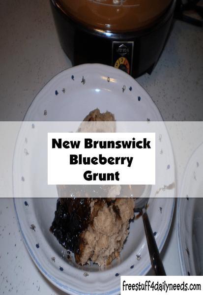 new brunswick blueberry grunt