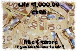 House & Home Contest ~ Win $1,000.00 Cash!