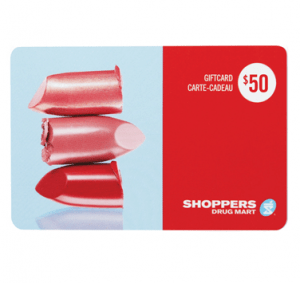shoppers drug mart contest gift card