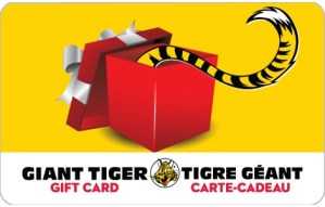 Giant Tiger Instant Win Contest ~ Win FREE Gift Cards And More!