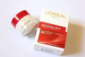 FREE L'Oreal Paris Revitalift Anti-Wrinkle + Firming Eye Cream!