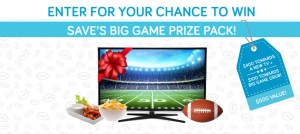 Win a $400.00 Best Buy Gift card AND a $100.00 Grocery Gift Card!