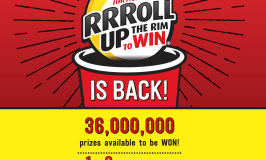 Tim Hortons Roll Up The Rim To Win Is Back 2018