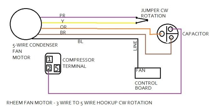 rheem condenser fan wiring diagram  pietrodavicoit