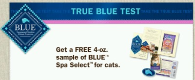 The Blue Buffalo Free BLUE Spa Select Cat Food Sample - Canada and US