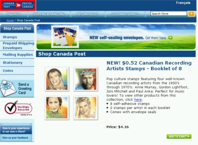 Canada Post Free Shipping Coupon Code - Exp Oct 31, 07, Canada