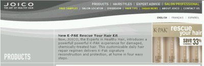 JOICO Free K-PAK Rescue Your Hair Kit - US