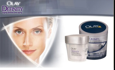 Olay Definity Intense Hydrating Cream Anti-Aging Skincare Free Sample - Canada