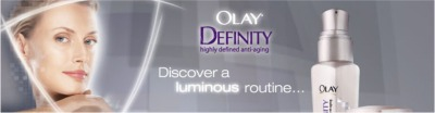 Olay Definity Free Olay Correcting Protective Lotion and Olay Definity Intense Hydrating Cream Free Sample - US