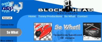 "Blockhead Records Free Copy of ""So What!"