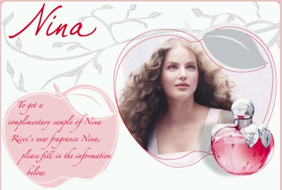 Nina a Perfume by Nina Ricci Free Sample - US