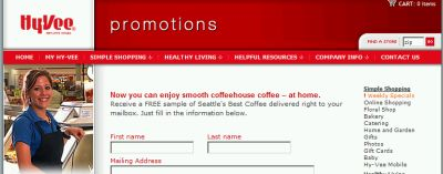 Hy-Vee Promotions Free Sample of Seattle