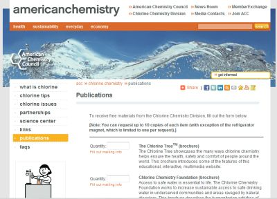 American Chemistry Free Publications and Education Materials: Refrigerator Magnet and More
