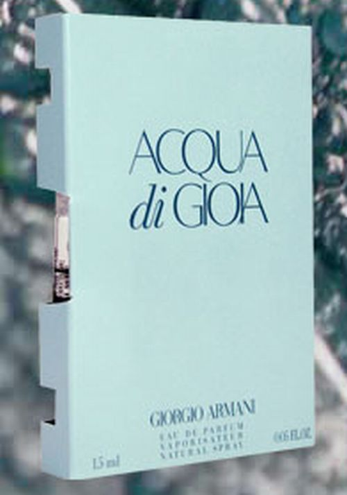 Giorgio Armani Acqua di Gioia Fragrance Free Sample - US
