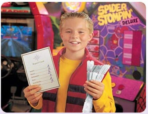 Chuck E. Cheese's Tokens for Grades - Up to 15 Tokens Maximum per Child