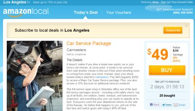 Get $10 Amazon Gift Cards for $5 on March 20, 2012, US