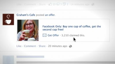 Facebook Offers Give You Coupons, Discounts and Offers from Businesses