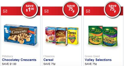 Save.ca Savings Made Delicious Free Save $1 Coupon off on Pillsbury Chocolatey Crescents, Save $0.75 Coupon off on Cheerios Cereal and More - Canada