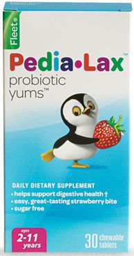 Pedia-Lax Probiotic Yums Dietary Supplement Free Sample - US