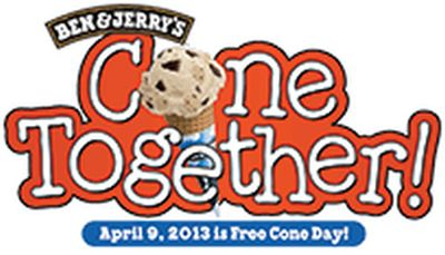Ben & Jerry's Free Cone Day on April 9 Free Ice Cream Cone