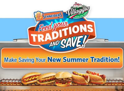 Schneiders Mystery Canada Coupon Giveaway via Facebook for Your Chance to Get a Free Product Coupon, Buy 1 Get 1 Free or Buy 2 Save $1 Coupon