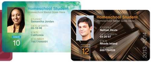 AlphaCard Free Homeschool Student IDs