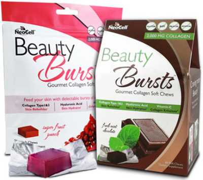 Neocell You Beauty Beauty Bursts Chocolate Free Sample