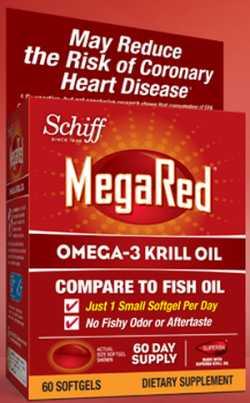 Ditch the Fish Free Schiff MegaRed 100% Pure Omega-3 Krill Oil - US