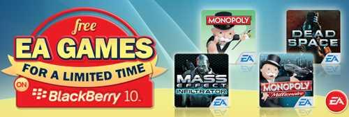 BlackBerry Free EA Games - Exp. February 28, 2014
