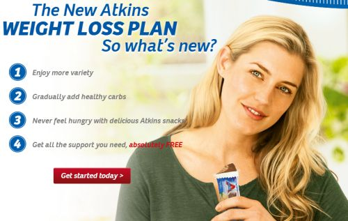 Atkins Free Bar and Quickstart Guide - Canada