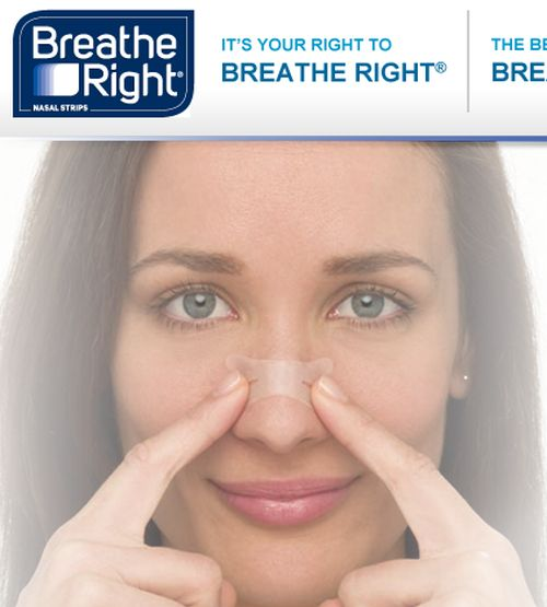 Breathe Right Nasal Strips Free Sample - Ages 18+, US