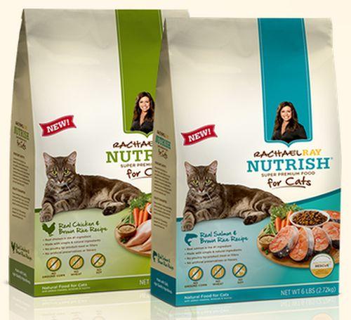 Rachael Ray Nutrish Super Premium Natural Food for Cats Free Sample via Facebook