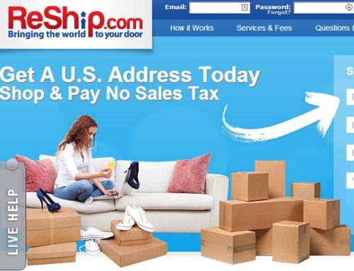 ReShip.com Get a US Address for Shopping Online and Pay No Sales Tax