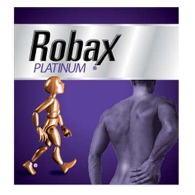 Robax Platinum Pain Reliever Medication Free Sample - Ages 18+, Canada
