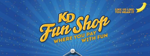 Kraft KD Fun Shop 100 Free Stuff Every Day via Facebook - Exp. July 3, 2014, Canada