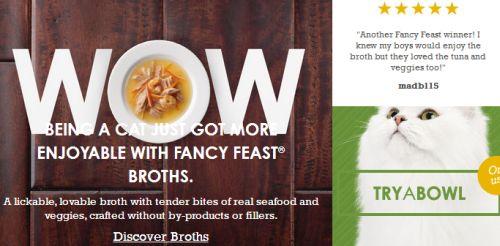Purina Fancy Feast Free Sample of Fancy Feast Broths Cat Food - US