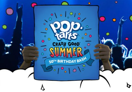 Pop-Tarts Crazy Good Summer 50th Birthday Bash Pop-Up Concert RSVP Free Concert Tickets- Select Cities