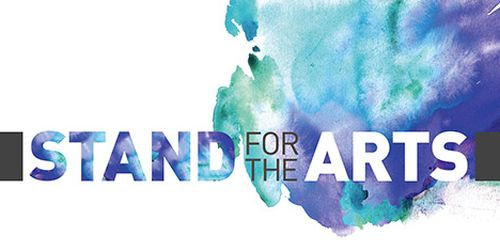 Stand for the Arts Free Sticker
