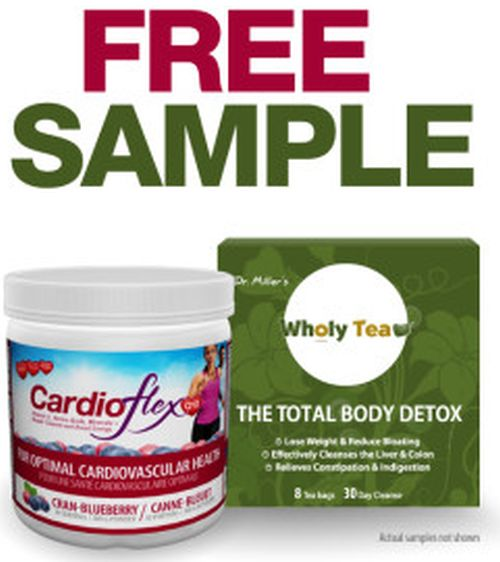 Innotech Free CardioFlex Q10 or Wholy Tea Sample