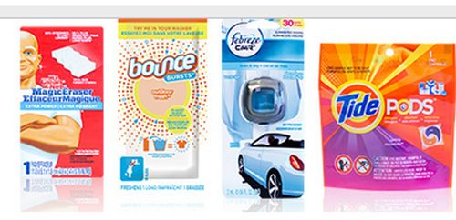P G Brand Sampler Free Household Or Beauty Samples Canada Free Stuff Page