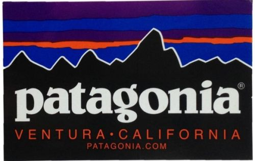 Patagonia Two Free Stickers