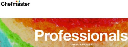 Chefmaster Professionals Chefs & Bakers Free Food Color Blend Samples
