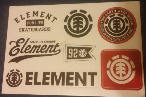 Element Skateboard Stickers