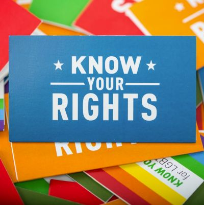 ACLU Know Your Rights Wallet Cards