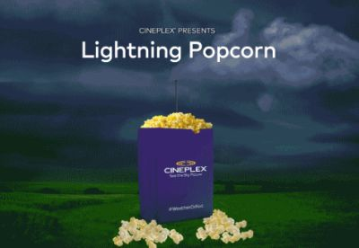 Cineplex Small Popcorn