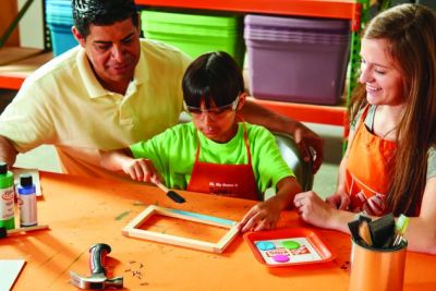 The Home Depot Free Kids Workshop Back to School Whiteboard
