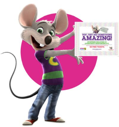 Chuck E. Cheese's Tickets